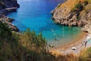 Bay of Ieranto in Amalfi Coast