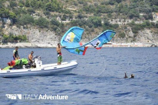 Lezione Kitesurf Costiera Amalfitana