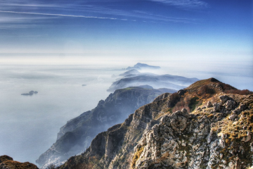 Trekking sull'Alta Via dei Monti Lattari