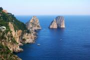 Volo panoramico sulla costiera amalfitana