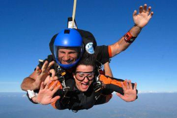 Lancio con Paracadute a Terni