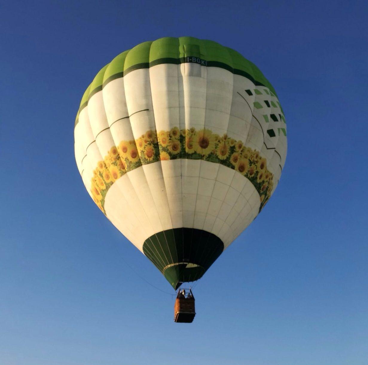 Volo in mongolfiera a Roma