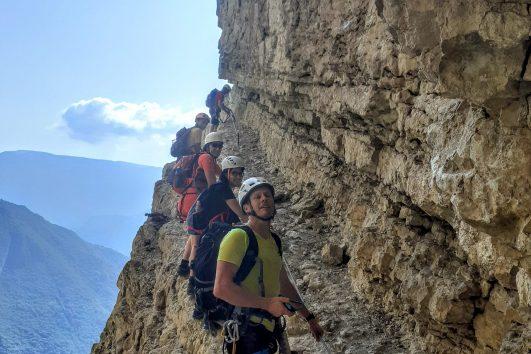 Via Ferrata, Lago di Garda   www.italy-adventure.com