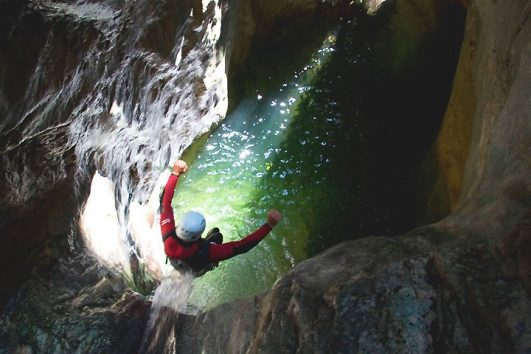 Canyoning Vajo dell'Orsa Lago di Garda | www.italy-adventure.com