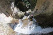 Canyoning Vajo dell'Orsa Lago di Garda   www.italy-adventure.com