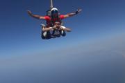 Lancio in paracadute tandem Costiera Amalfitana   www.italy-adventure.com